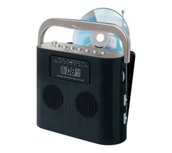 Jensen Portable Stereo CD Player with AM/FM Radio - E253471