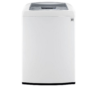 LG 4.5 Cubic Foot Front Control Top-Load Washer- White - E277671