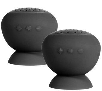 Lyrix Jive Two-Pack Bluetooth Speakers - E281671