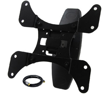 "Tilt and Swivel 23"" to 42"" TV Wall Mount with HDMI Cable - E281871"
