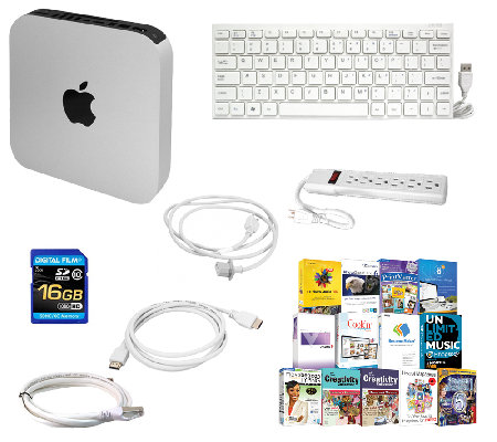 Apple Mac Mini - Core i5, 4GB, 500GB HDD with Software & More