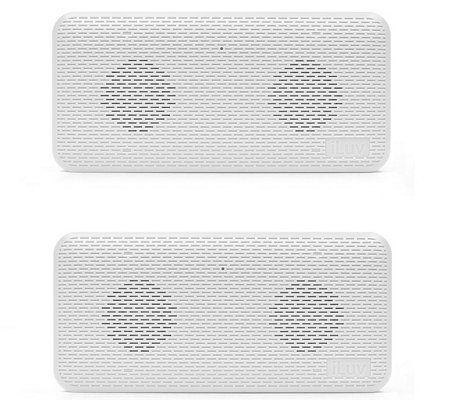 iLuv Aud Mini Portable Bluetooth Speaker 2-Pack