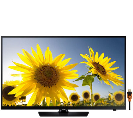 "Samsung 48"" Class LED HDTV with HDMI Cable"