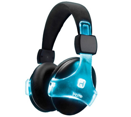 iHome Color Changing Bluetooth Headphones