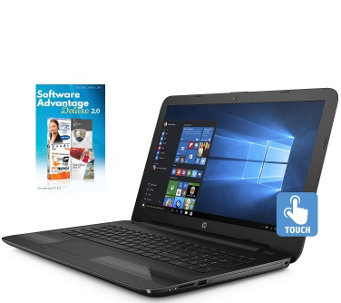 "HP 15"" Touch Laptop - Core i3, 8GB RAM, 1TB HDDwith 1-Yr Tech - E290071"