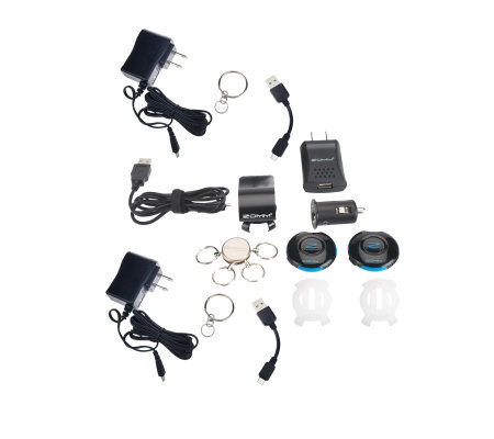 ZOMM Set of 2 Wireless Speakers & Safe Driving Kit
