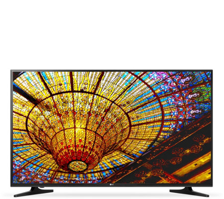 "LG 50"" Class 4K Ultra HD Smart LED TV w/ HDMI Cable & Apps"