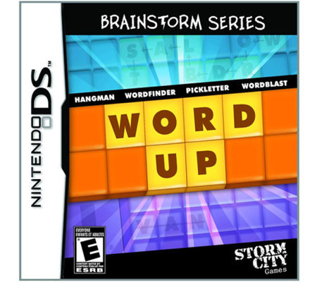 Word Up - Brainstorm Series - Nintendo DS