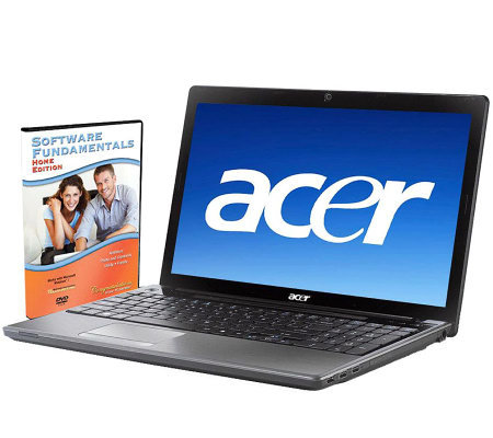 "Acer 17.3"" Notebook 4GB RAM, 500GB HD, Webcam,HDMI Port"