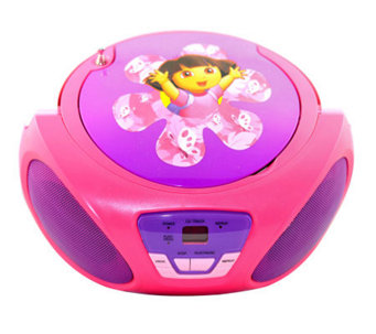 Dora the Explorer CD Boombox - E258472