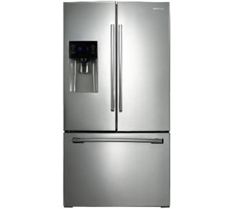 Samsung 24.6 Cubic Ft Stainless Steel French Door Refrigerato - E285772