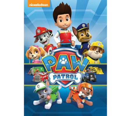 PAW Patrol Widescreen DVD