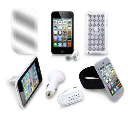 Apple 16GB 4th Generation iPod touch with 6-pc Accessory Kit