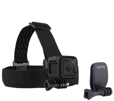 GoPro Head Strap and QuickClip Accessory