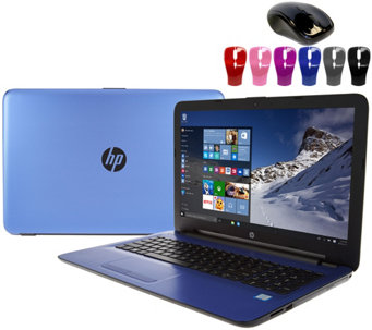 "HP 15"" Laptop Intel Core i3 12GB RAM 1TB HD DVD-RW, Webcam & Lifetime Tech - E230073"