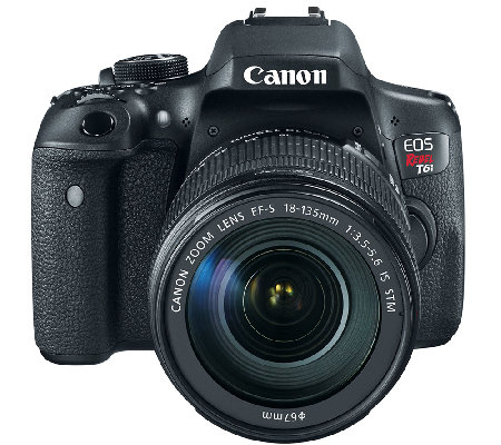 Canon EOS Rebel T6i Digital Camera w/ EF-S 18-135mm Lens, WiF