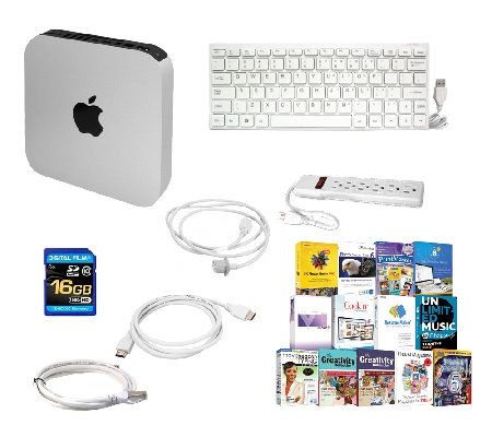 Apple Mac mini - Core i5, 8GB, 1TB HDD with Software & More