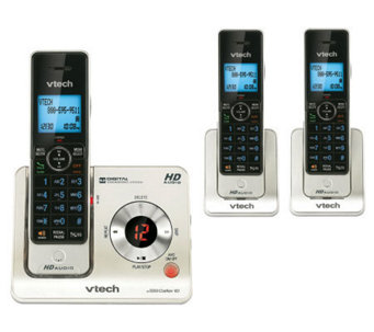 Vtech LS6425-3 Three-Handset Cordless AnsweringSystem - E249874