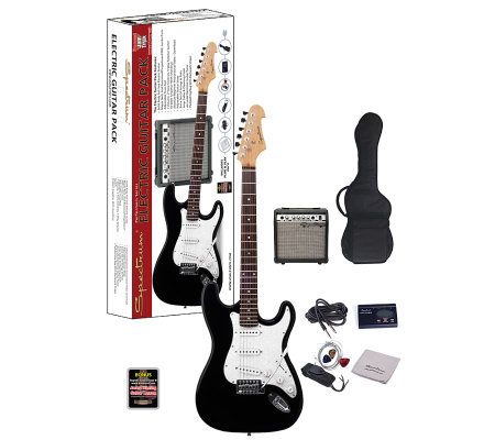 spectrum ail 278 electric guitar with 10 watt amplifier page 1. Black Bedroom Furniture Sets. Home Design Ideas