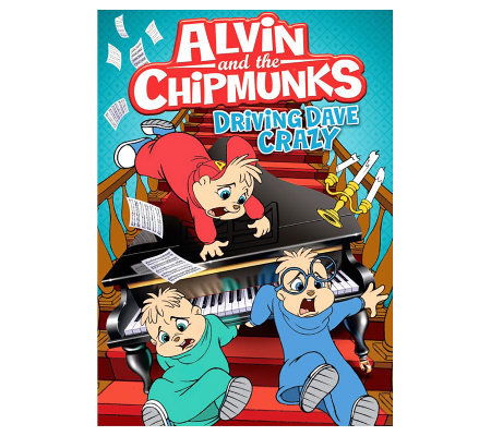 Alvin and the Chipmunks: Driving Dave Crazy DVD