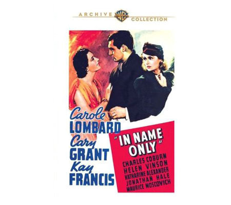 In Name Only (1939) DVD