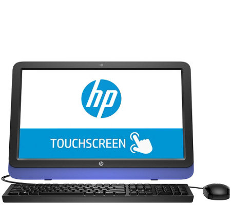 "HP 22"" All-in-One - AMD A6, 4GB, 1TB with Software & Mouse"