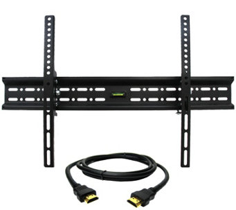 "MegaMounts Tilt TV Wall Mount 32"" to 70"" with HDMI Cable - E287474"