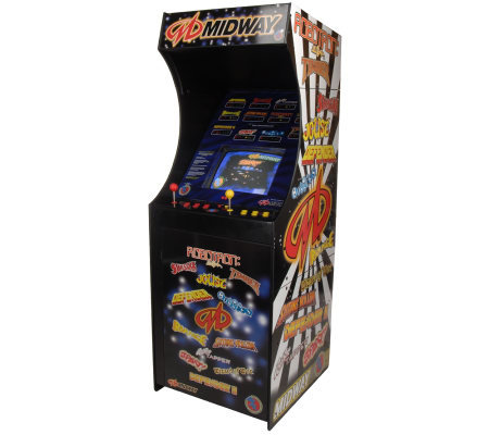Big Games Midway Video Arcade Machine with 12 Games