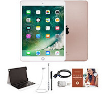 "Apple iPad Pro 10.5"" 64GB Wi-Fi Tablet with Keyboard and Accessories - E232075"