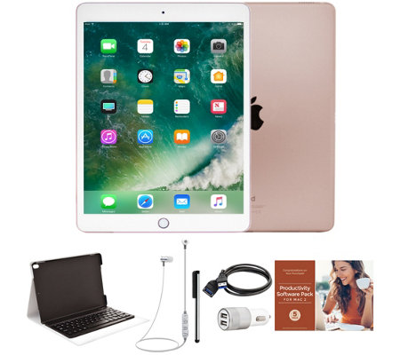 "Apple iPad Pro 10.5"" 64GB Wi-Fi Tablet with Keyboard and Accessories"