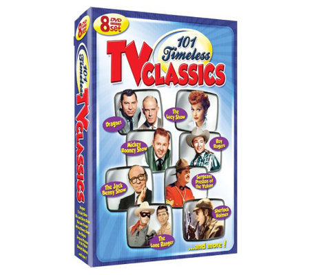 101 Timeless TV Classics: 8-Disc Set DVD
