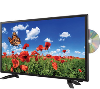 "GPX 24"" 1080p DLED HDTV with Built-in DVD Player - E289075"