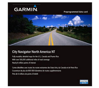 Garmin City Navigator North America NT microSD/SD Card - E217176