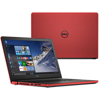 "Dell 15"" Laptop 8GB RAM 1TB HDD AMD Quad Core Windows 10 Home & Lifetime Tech - E229776"