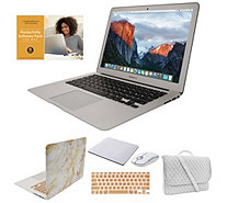 "Apple MacBook Air 13"" Laptop w/ Messenger Bag, Wireless Mouse & Case - E231476"