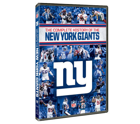 NFL Complete History of the New York Giants 2-Disc Set