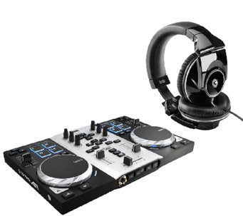 Hercules DJ Control Air S Series Turntable withHeadphones - E282976