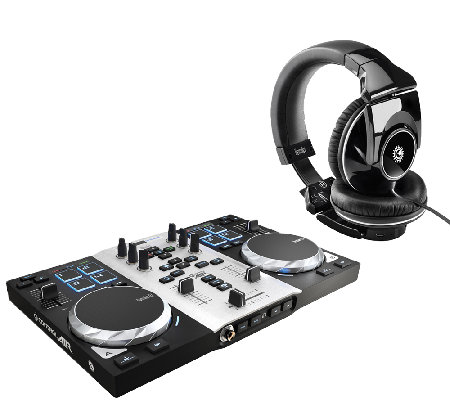 Hercules DJ Control Air S Series Turntable withHeadphones