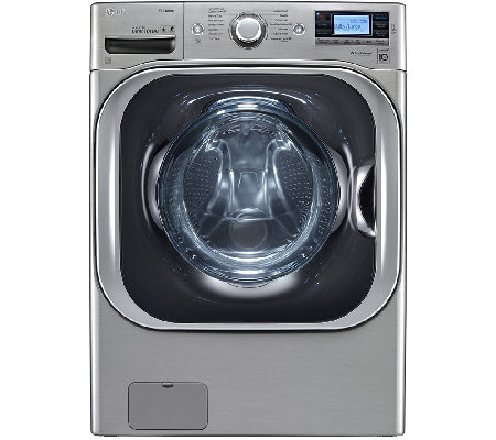LG 5.2 Cu. Ft. SteamWasher w/ TurboWash and LCDDisplay