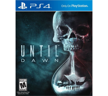 PlayStation 4 Until Dawn