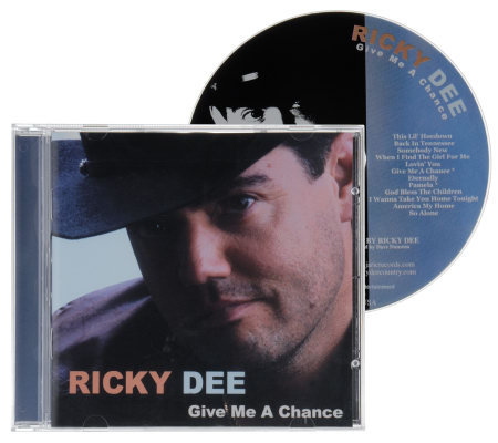 "Ricky Dee ""Give Me a Chance"" CD"