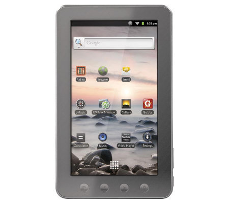 "Coby Kyros 7"" Android 2.3 Tablet 4GB RAM with Wi-Fi"