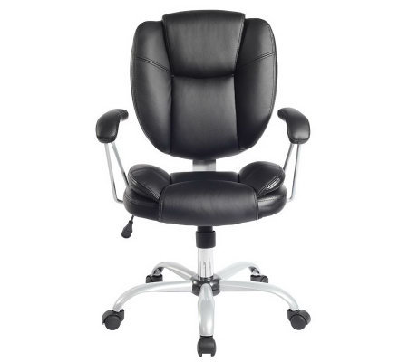 Techni Mobili Comfort Support Mid Back Office Chair