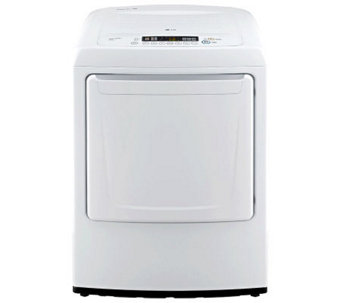 LG 7.3 Cu. Ft. Ultra-Large Front-Load Gas Dryerw/ Sensor Dry - E275277