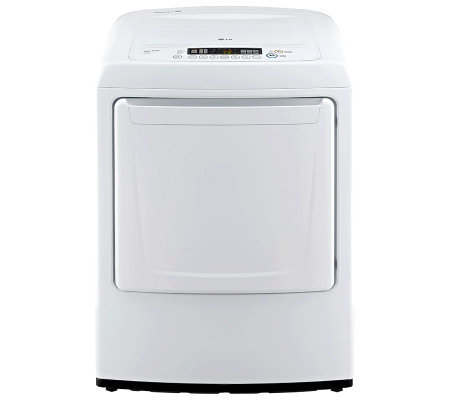 LG 7.3 Cu. Ft. Ultra-Large Front-Load Gas Dryerw/ Sensor Dry