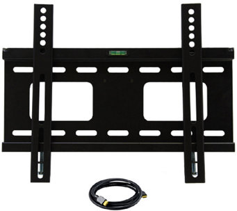 "MegaMounts 23"" to 37"" TV Wall Mount with HDMI Cable - E281877"