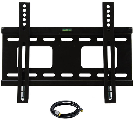 "MegaMounts 23"" to 37"" TV Wall Mount with HDMI Cable"