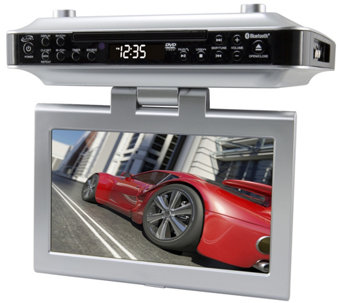 iLive Under-Cabinet System with LCD Display, CD/DVD player - E289377
