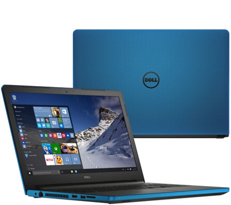 "Dell 17"" Laptop 8GB RAM 1TB HDD AMD Quad Core Windows 10 Home & Lifetime Tech"