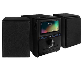 "Google Powered Internet Music System with 7"" Multi-Touch LCD - E276578"
